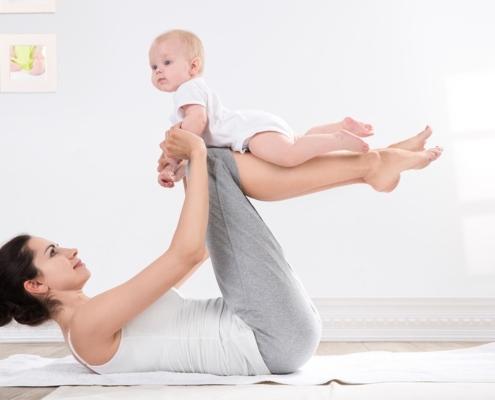 quali esercizi fare dopo il parto